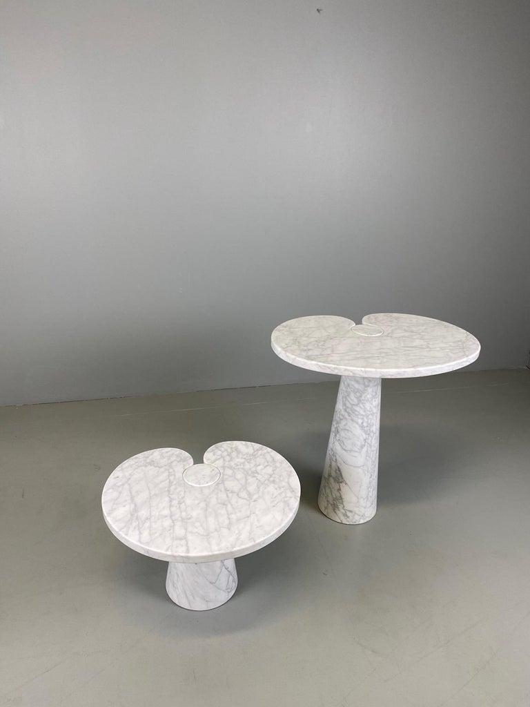Angelo Mangiarotti for Skipper Carrara Side Table For Sale 6