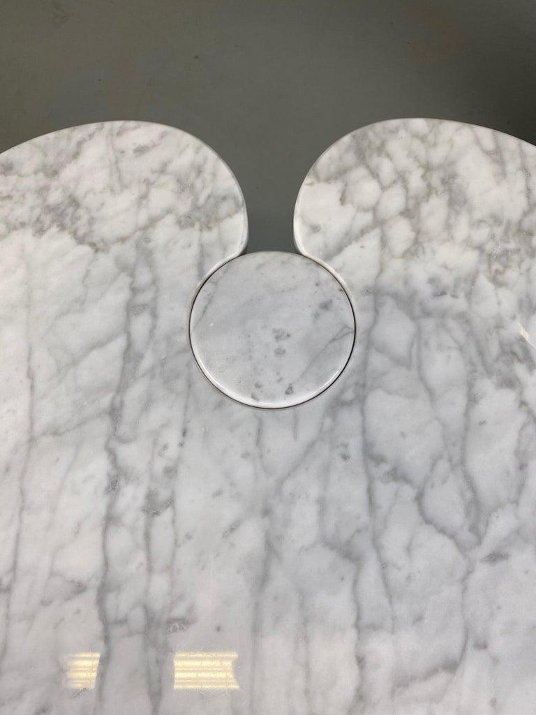 Angelo Mangiarotti for Skipper Carrara Side Table For Sale 8