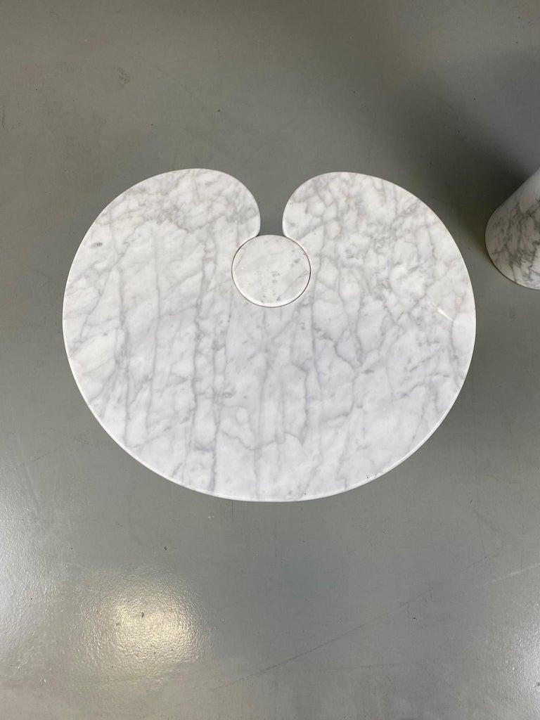 Angelo Mangiarotti for Skipper Carrara Side Table For Sale 9