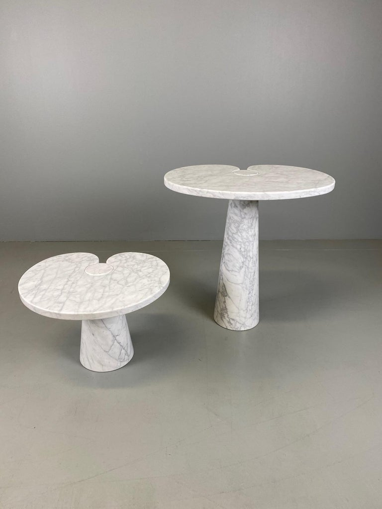 Angelo Mangiarotti for Skipper Carrara Side Table For Sale 1