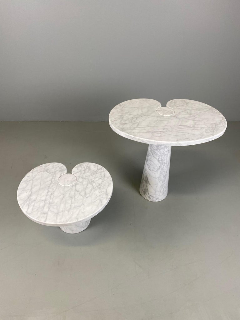 Angelo Mangiarotti for Skipper Carrara Side Table For Sale 2