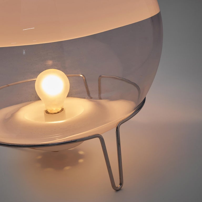 Angelo Mangiarotti for Skipper Table Lamp In Good Condition For Sale In Waalwijk, NL