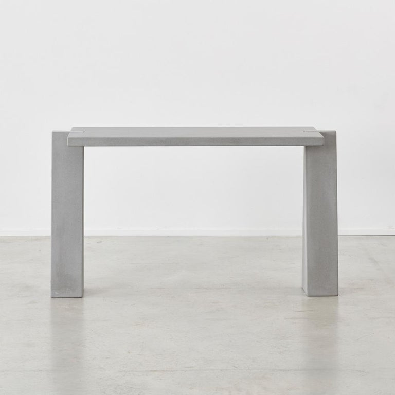Angelo Mangiarotti's work as an architect and industrial designer was led by a belief that carefully respecting a material's characteristics was imperative to developing a form. The weight of marble inspired him to create his Eros series of tables,