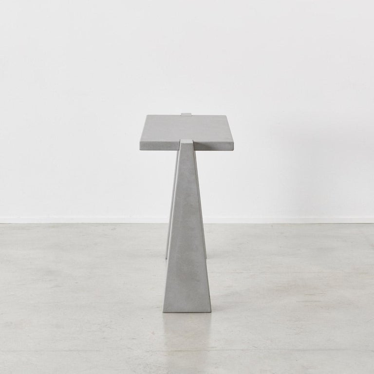 Brutalist Angelo Mangiarotti Incas Console for Skipper, Italy, 1978 For Sale