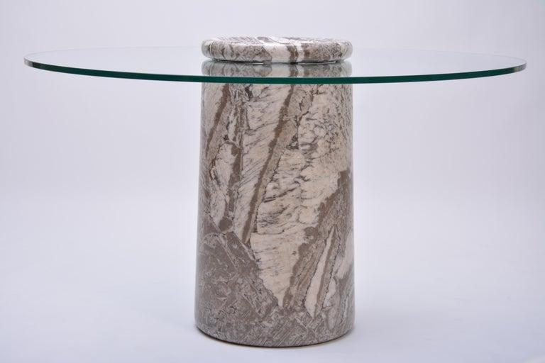 Angelo Mangiarotti, Großer Italienischer Marmor Esszimmertisch, Modell Castore, 1975 5