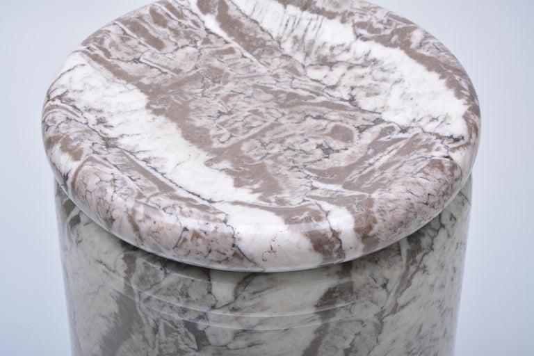 Angelo Mangiarotti, Großer Italienischer Marmor Esszimmertisch, Modell Castore, 1975 7