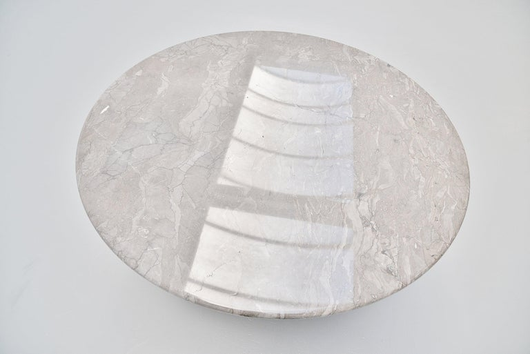 Angelo Mangiarotti M1 T70 Table Grey Marble Skipper, 1969 For Sale 2