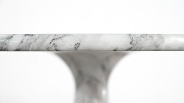 Angelo Mangiarotti Marble Dining Table 1972 by Skipper, Italy For Sale 9