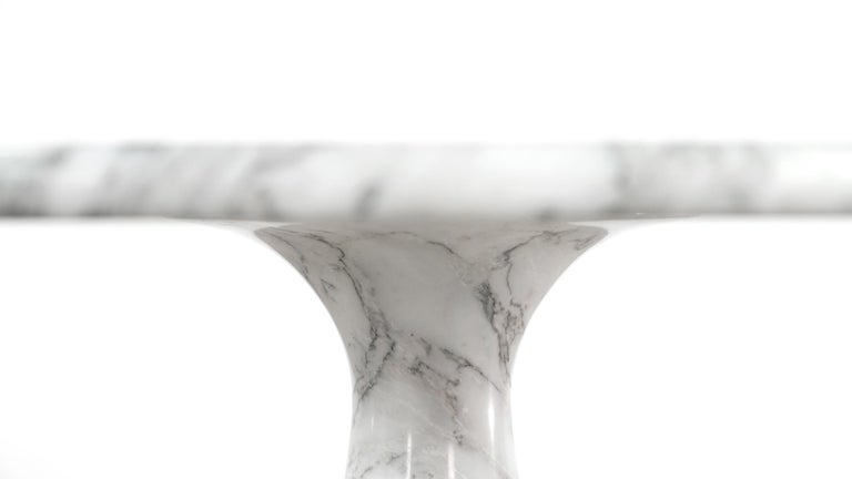 Angelo Mangiarotti Marble Dining Table 1972 by Skipper, Italy For Sale 10
