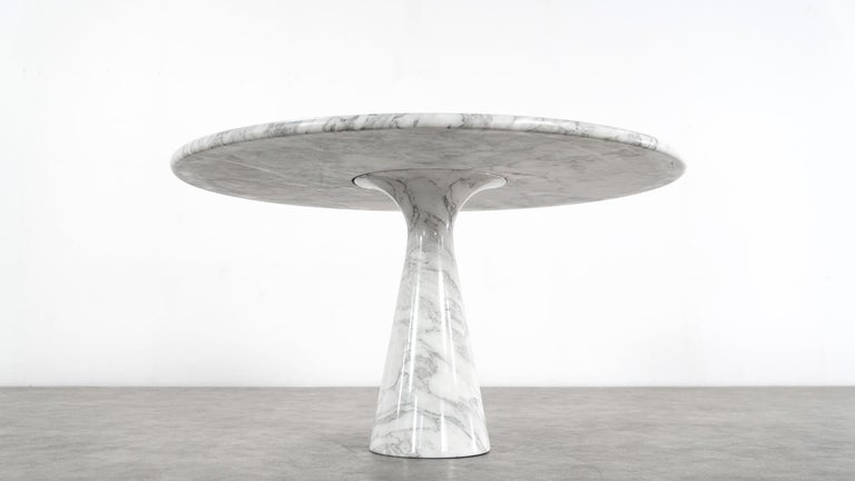 Angelo Mangiarotti Marble Dining Table 1972 by Skipper, Italy For Sale 12