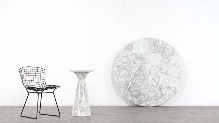 Angelo Mangiarotti Marble Dining Table 1972 by Skipper, Italy For Sale 13
