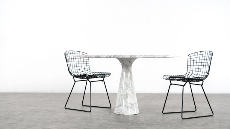 Angelo Mangiarotti Marble Dining Table 1972 by Skipper, Italy For Sale 2