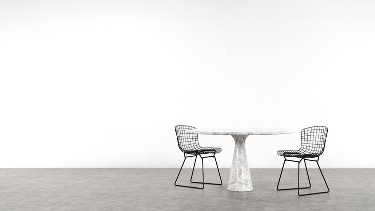 Angelo Mangiarotti Marble Dining Table 1972 by Skipper, Italy For Sale 3