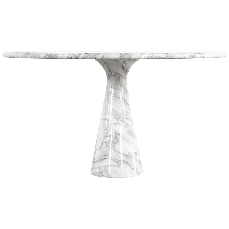 Angelo Mangiarotti Marble Dining Table 1972 by Skipper, Italy For Sale