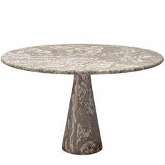 Angelo Mangiarotti Marble Pedestal Table