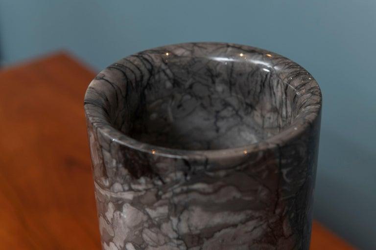 Angelo Mangiarotti Marble Vase Vessel For Sale 1