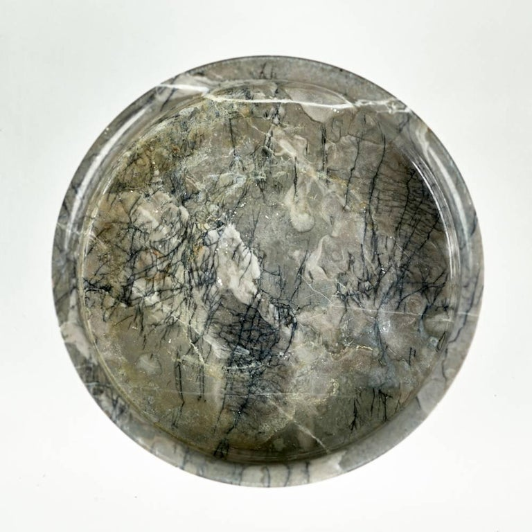 Mid-20th Century Angelo Mangiarotti Marble Vessel for Knoll International, circa 1960s For Sale