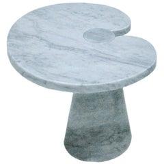Angelo Mangiarotti Mid-Century Modern Serie Eros Marble Italian Side Table
