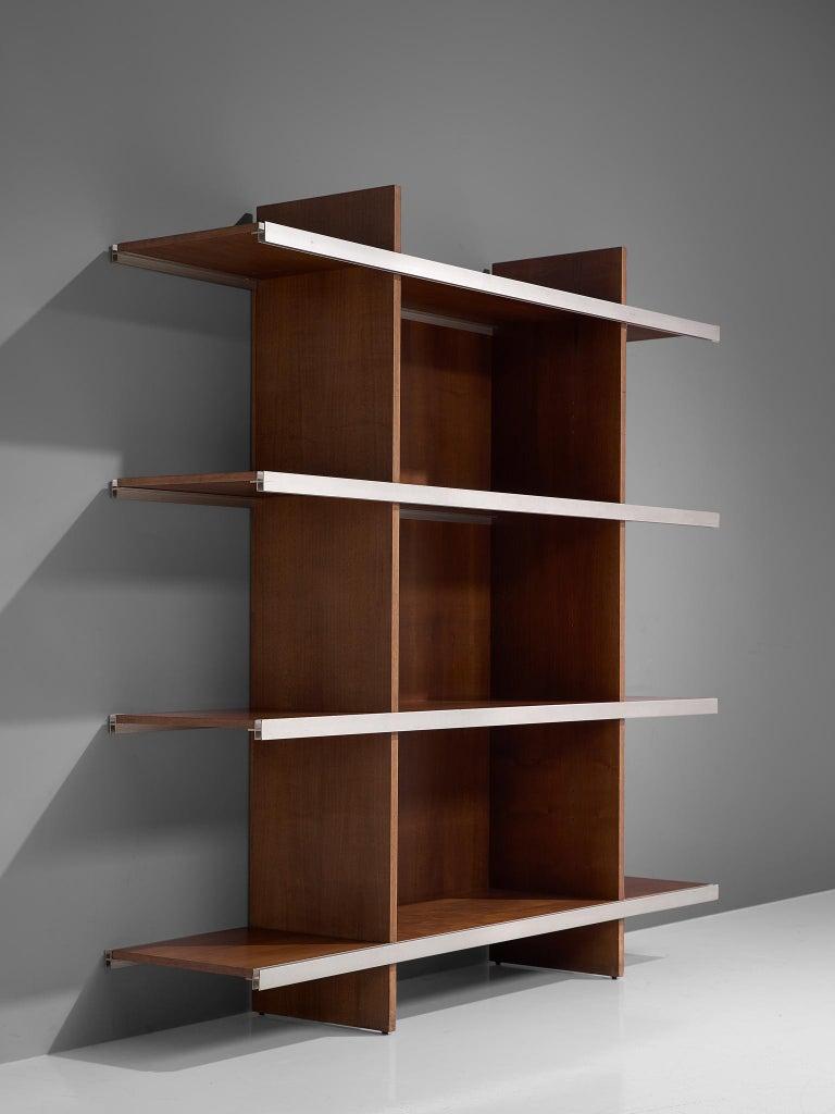 Italian Angelo Mangiarotti Multiuse Cabinet in Teak For Sale