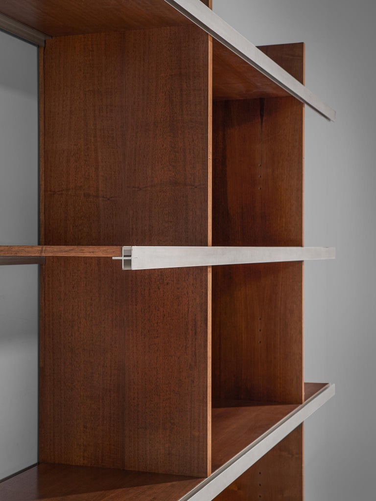 Angelo Mangiarotti Multiuse Cabinet in Teak In Good Condition For Sale In Waalwijk, NL