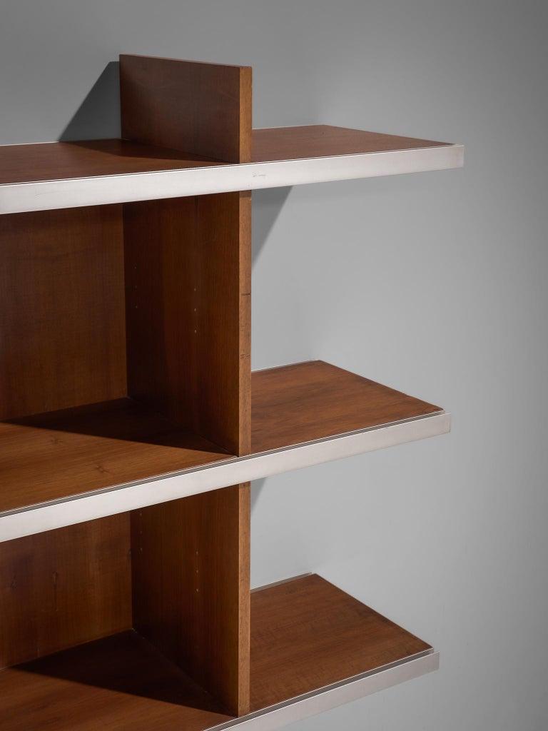 Mid-20th Century Angelo Mangiarotti Multiuse Cabinet in Teak For Sale