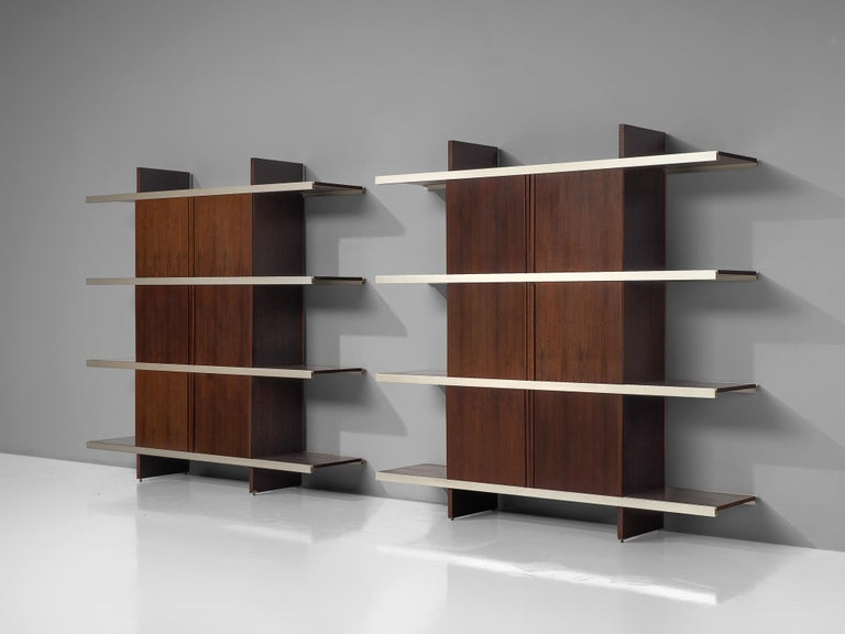 Angelo Mangiarotti Multiuse Cabinet with Sliding Doors For Sale 3