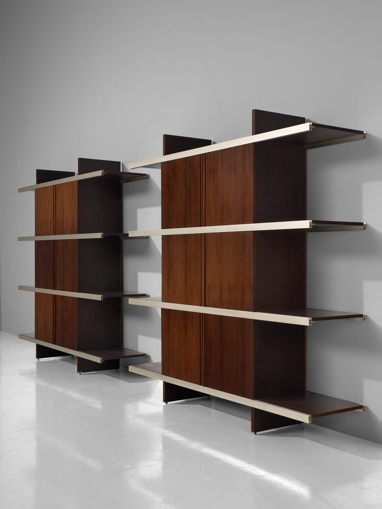 Angelo Mangiarotti Multiuse Cabinet with Sliding Doors For Sale 4