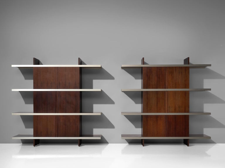 Angelo Mangiarotti Multiuse Cabinet with Sliding Doors For Sale 5