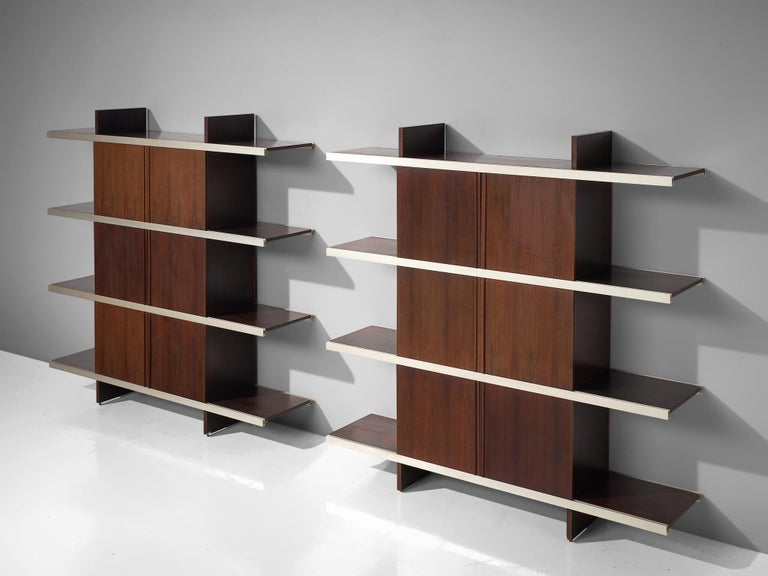 Angelo Mangiarotti Multiuse Cabinet with Sliding Doors For Sale 7