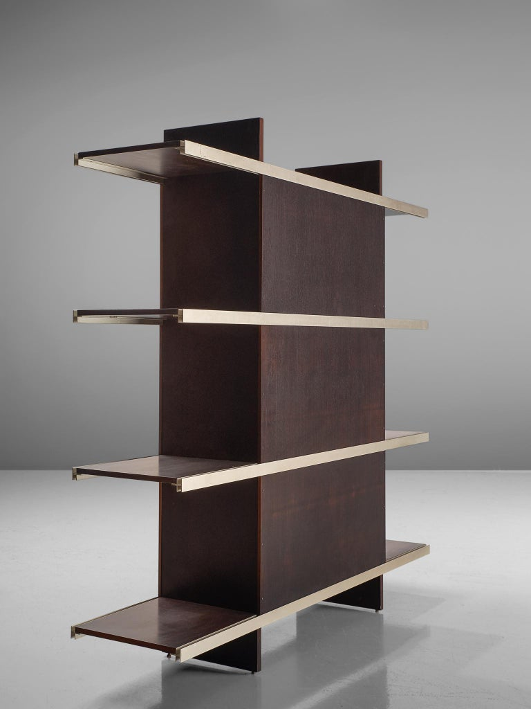 Angelo Mangiarotti Multiuse Cabinet with Sliding Doors For Sale 2