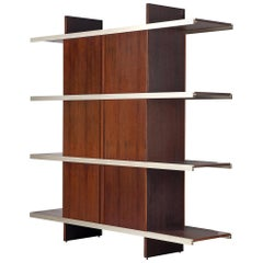 Angelo Mangiarotti Multiuse Cabinet with Sliding Doors