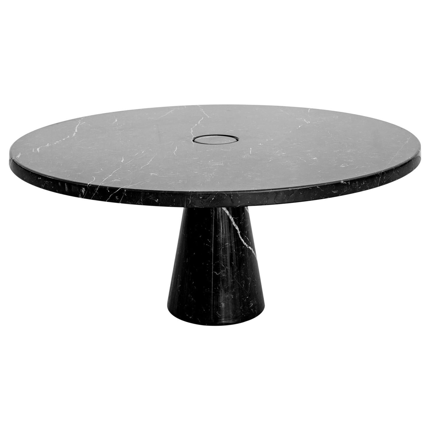 Angelo Mangiarotti Round Marble Eros Coffee Table