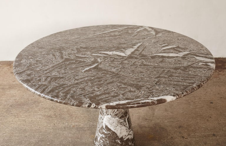 Angelo Mangiarotti Round Marble T70 Dining Table, Italy, 1960s-1970s For Sale 2
