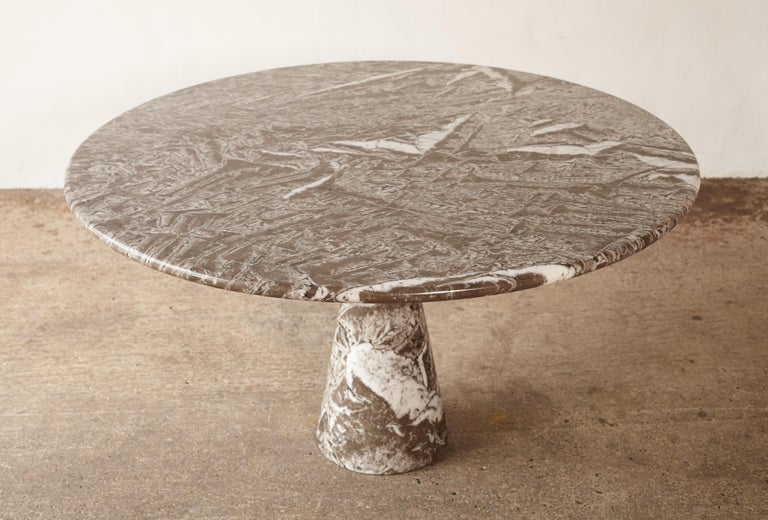 Angelo Mangiarotti Round Marble T70 Dining Table, Italy, 1960s-1970s For Sale 3