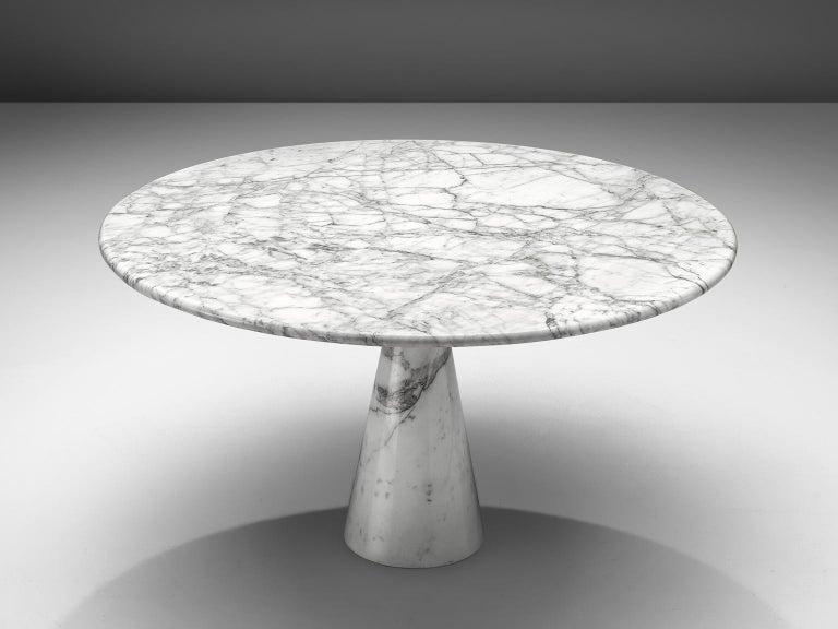 Angelo Mangiarotti Round Marble Table 3