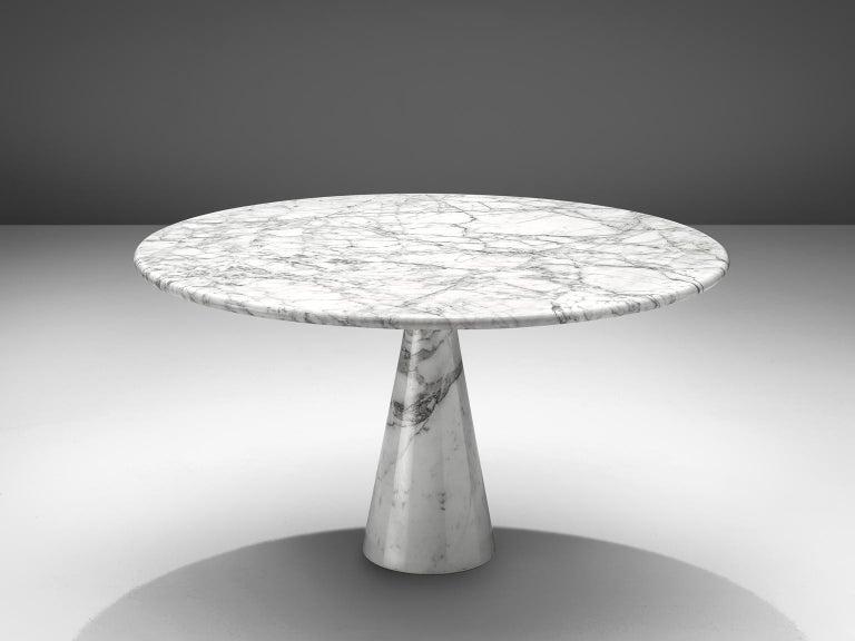 Angelo Mangiarotti Round Marble Table 4