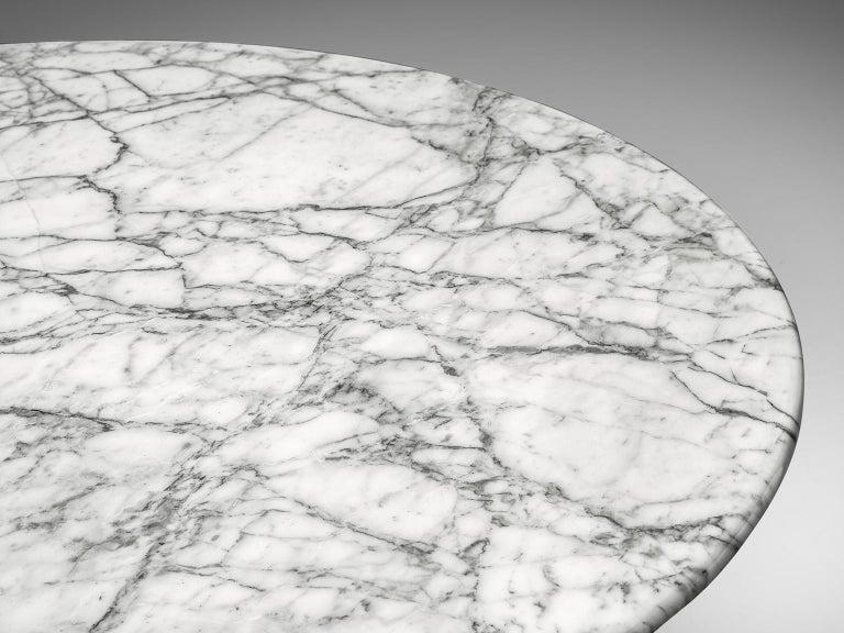 Angelo Mangiarotti Round Marble Table 6