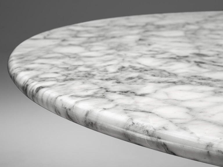 Angelo Mangiarotti Round Marble Table 7