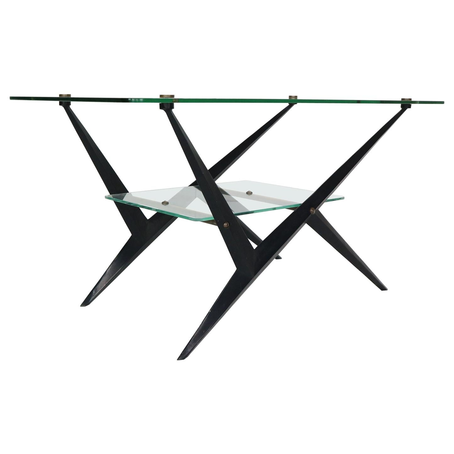 Angelo Ostuni Cocktail or Coffee Table, 1950, Italy