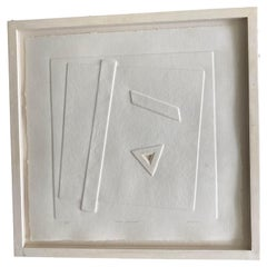 Angelo Savelli Basically White Series, Texas Triangle