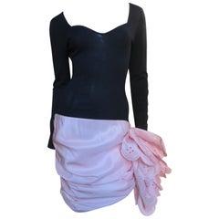 Angelo Tarlazzi Color Block Dress 1990s