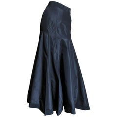 Angelo Tarlazzi New Silk Maxi Skirt