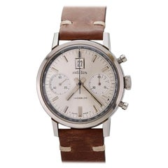 Angelus Stainless Steel Incabloc Chronograph Date, circa 1960s