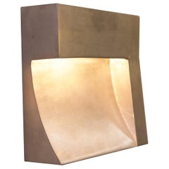 Angle Indoor/Outdoor Brass or Bronze Finish Wet-Rated Sconce/Light