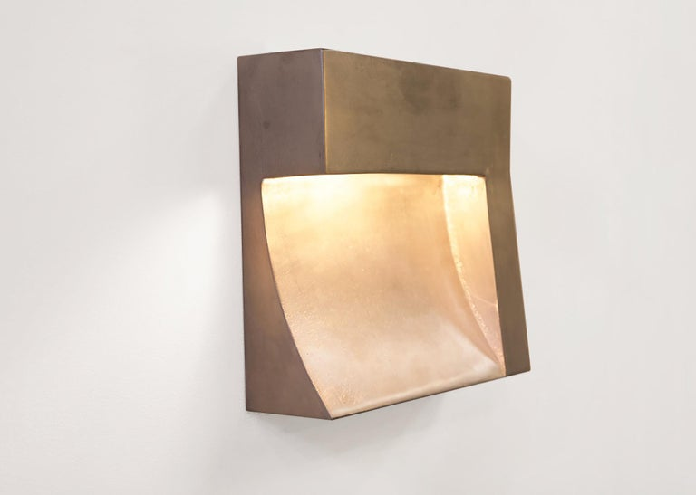 Angle Indoor/Outdoor LED Cast plated Silver or Blackened Wet-Rated Sconce/Light 4