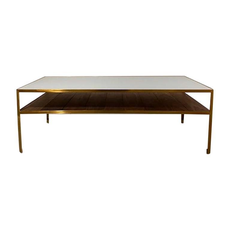 Angle Steel Coffee Table