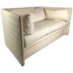 Angled Sides Sofa by John Saladino for Baker