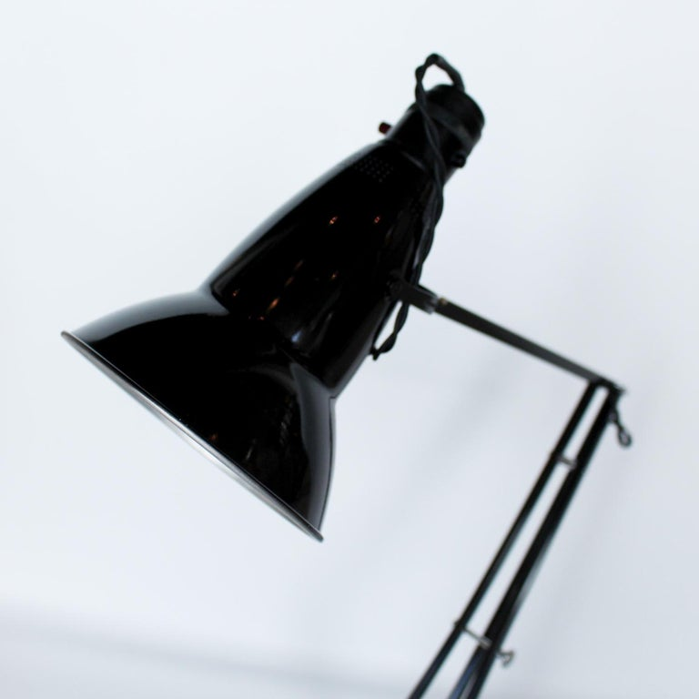 Mid-20th Century Anglepoise Desk Lamp by Herbert Terry & Sons Designed by George Carwardine