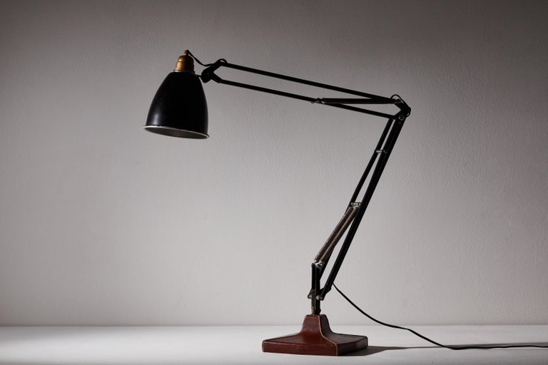 Anglepoise Table Lamp by George Cawardine & Hermes For Sale 1