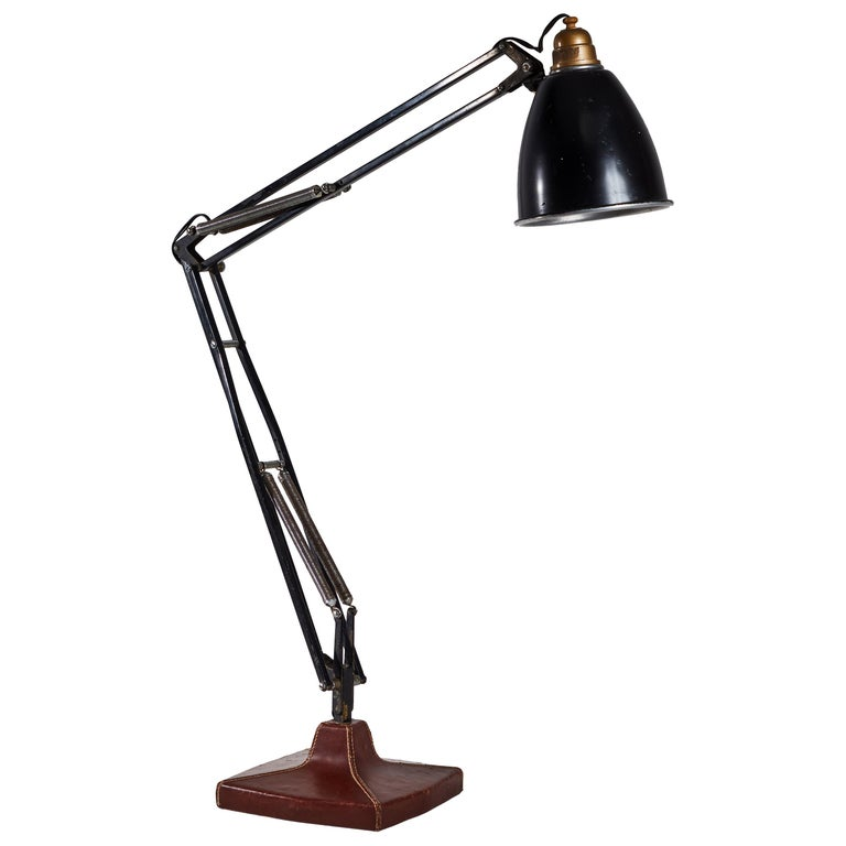 Anglepoise Table Lamp by George Cawardine & Hermes For Sale